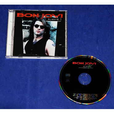 Bon Jovi - Always - Cd Single - 1994 - USA
