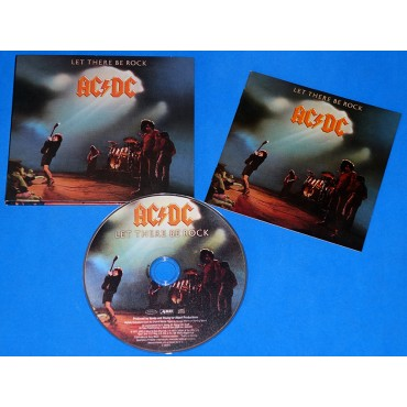 AC/DC - Let There Be Rock - Cd - Brasil - 2012 - Digipack