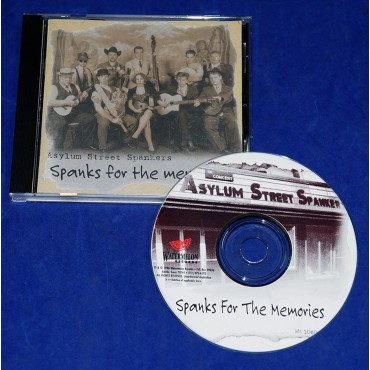 Asylum Street Spankers - Spanks For The Memories - Cd - 1996 - USA