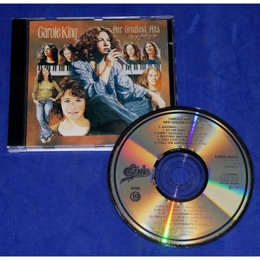 Carole King - Her Greatest Hits - Cd - 1991 - Holanda
