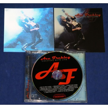 Ace Frehley - Greatest Hits Live - Cd capa 3D 2006 - USA - Kiss