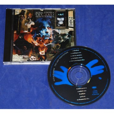 Alice Cooper - The Last Temptation - Cd - 1994