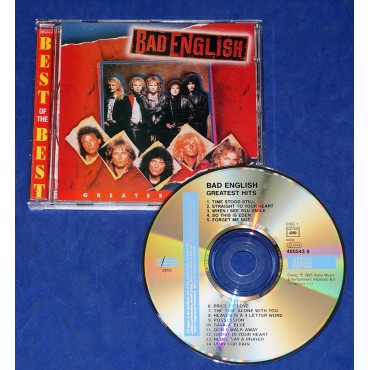 Bad English - Greatest Hits Cd 1995 Europa
