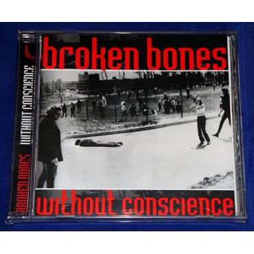 Broken Bones - Without Conscience - Cd - 2001 - UK - Lacrado