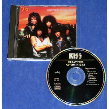 Kiss - Creatures Of The Night - Cd 1996 Sem mascara