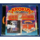 Krokus - The Blitz / Change Of Address - Cd 2 em 1 Russia 2001