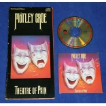 Motley Crue - Theatre of pain - Cd 1ª Prensagem USA 1985