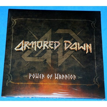 Armored Dawn - Power Of Warrior - Cd Promo - Lacrado - 2016