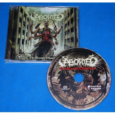 Aborted - The Necrotic Manifesto - Cd - 2014 - Argentina