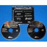 Gigantour - Cd Duplo - 2005 - Megadeth Dream Theater Anthrax Nevermore