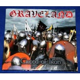 Graveland - Creed Of Iron - Cd Digipak - 2000 - Alemanha - Lacrado