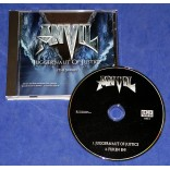 Anvil - Juggernaut Of Justice - Cd Single - 2011 - USA