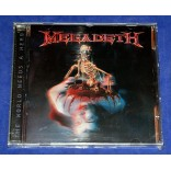 Megadeth - The World Needs A Hero - Cd - 2001 - Brasil - Lacrado