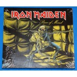 Iron Maiden - Piece Of Mind - Cd - USA - Slipcase lacrado CK86211
