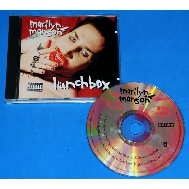 Marilyn Manson - Lunchbox - Cd - 1995 - USA