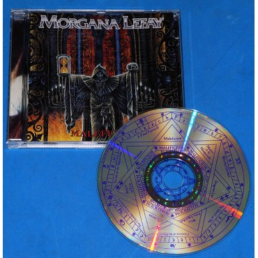 Morgana Lefay - Maleficium - Cd - Alemanha - 1996 - Black Mark