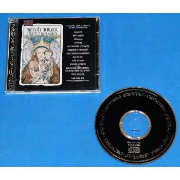 Black Sabbath - Nativity In Black - Cd - 1994 - Megadeth Sepultura Bruce Dickinson