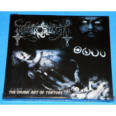 Necrophagia - The Divine Art Of Torture - Cd - 2003 - Slipcase - Lacrado