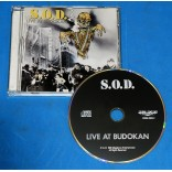 SOD - Live At Budokan - Cd - 1992 - USA - Anthrax Nuclar Assault S.O.D.