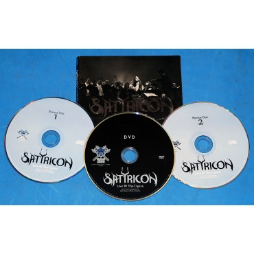 Satyricon - Live At The Opera - 2 Cd's + 1 DVD - Digipak - 2015