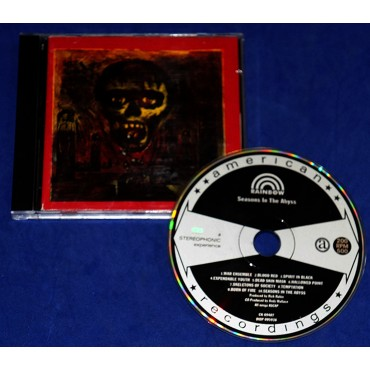 Slayer - Seasons In The Abyss - Cd - 1990 - USA