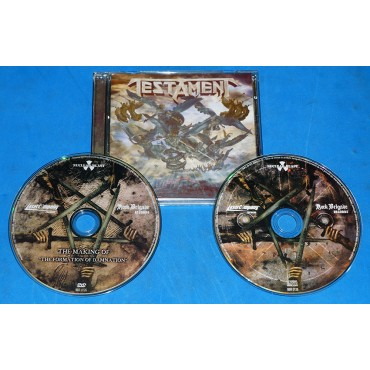 Testament - The Formation Of Damnation - Cd + DVD - Brasil