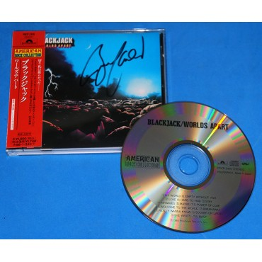 Blackjack - Worlds Apart - Cd - 1996 - Japão - Kiss