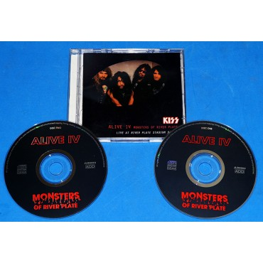 Kiss - Alive IV Monsters Of River Plate - 2 Cds