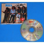 Kiss - Hide your heart - Cd Single UK - 1989 Autografado