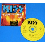 Kiss - I Love It Loud (Live) - Cd Promo - 1993 - USA