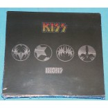 Kiss - Ikons - 4 Cd Digipack - USA - 2008 - Lacrado