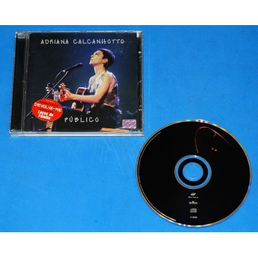 Adriana Calcanhotto - Público - Cd - 2000