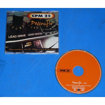 CPM 22 - Desconfio - Cd Promo 2002
