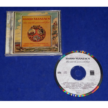 10.000 Maniacs - The Earth Pressed Flat - Cd - 1999