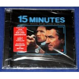 15 Minutes - Trilha Sonora Original do Filme - Cd - 2001 - USA - Lacrado
