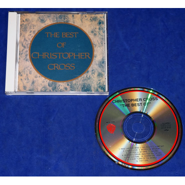 Christopher Cross ‎- The Best Of Christopher Cross - Cd - 1991 - Japão