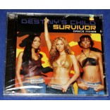 Destiny's Child - Survivor (Dance Mixes) - Cd Maxi-Single - 2001 - USA - Lacrado - Beyoncé