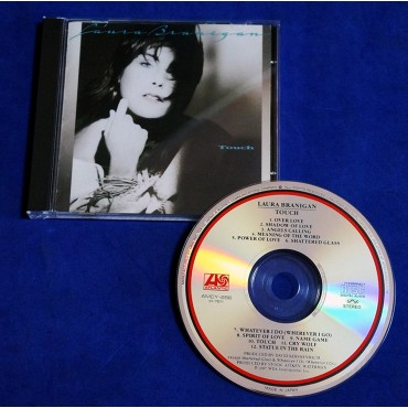 Laura Branigan - Touch - Cd - 1991 - Japão