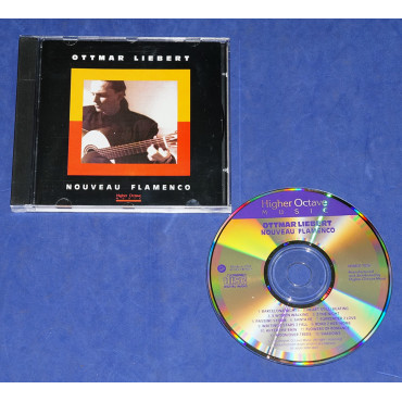 Ottmar Liebert - Nouveau Flamenco - Cd - 1990 USA