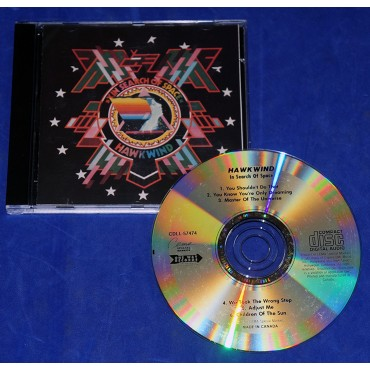 Hawkwind - X In Search Of Space - Cd - 1991 - Canadá