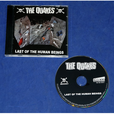 The Quakes - Last Of The Human Beings - Cd 2001 USA