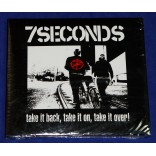 7 Seconds - Take It Back, Take It On, Take It Over! - Cd 2014 Digipack Lacrado