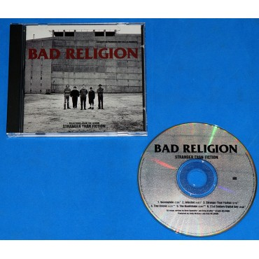 Bad Religion - Select tracks from Stranger - Cd Promo - USA - 1994