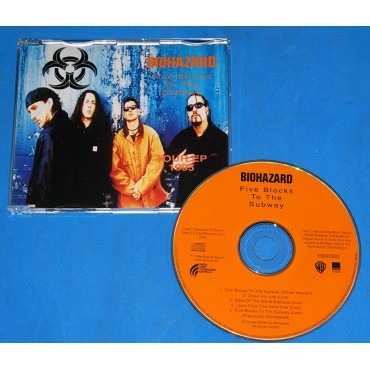Biohazard  - Five Blocks To The Subway Tour Ep 1995 - Cd - 1995 - Austrália