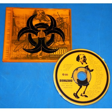 Biohazard - State Of The World Address - Cd - 1994 - USA - Autografado