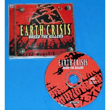 Earth Crisis - Breed The Killers - Cd - Brasil - 1998