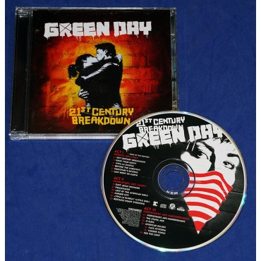 Green Day - 21st Century Breakdown - Cd - 2009 - Brasil