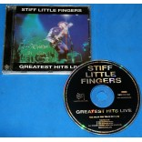 Stiff Little Fingers - Greatest Hits Live - Cd - 1999 - UK
