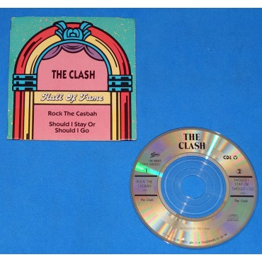 "The Clash - Rock the casbah - Cd 3"" - USA - 1989"
