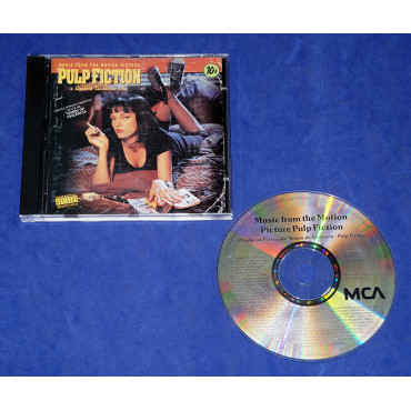 Pulp Fiction - Tempo de Violência - Trilha do Filme - Cd - 1994